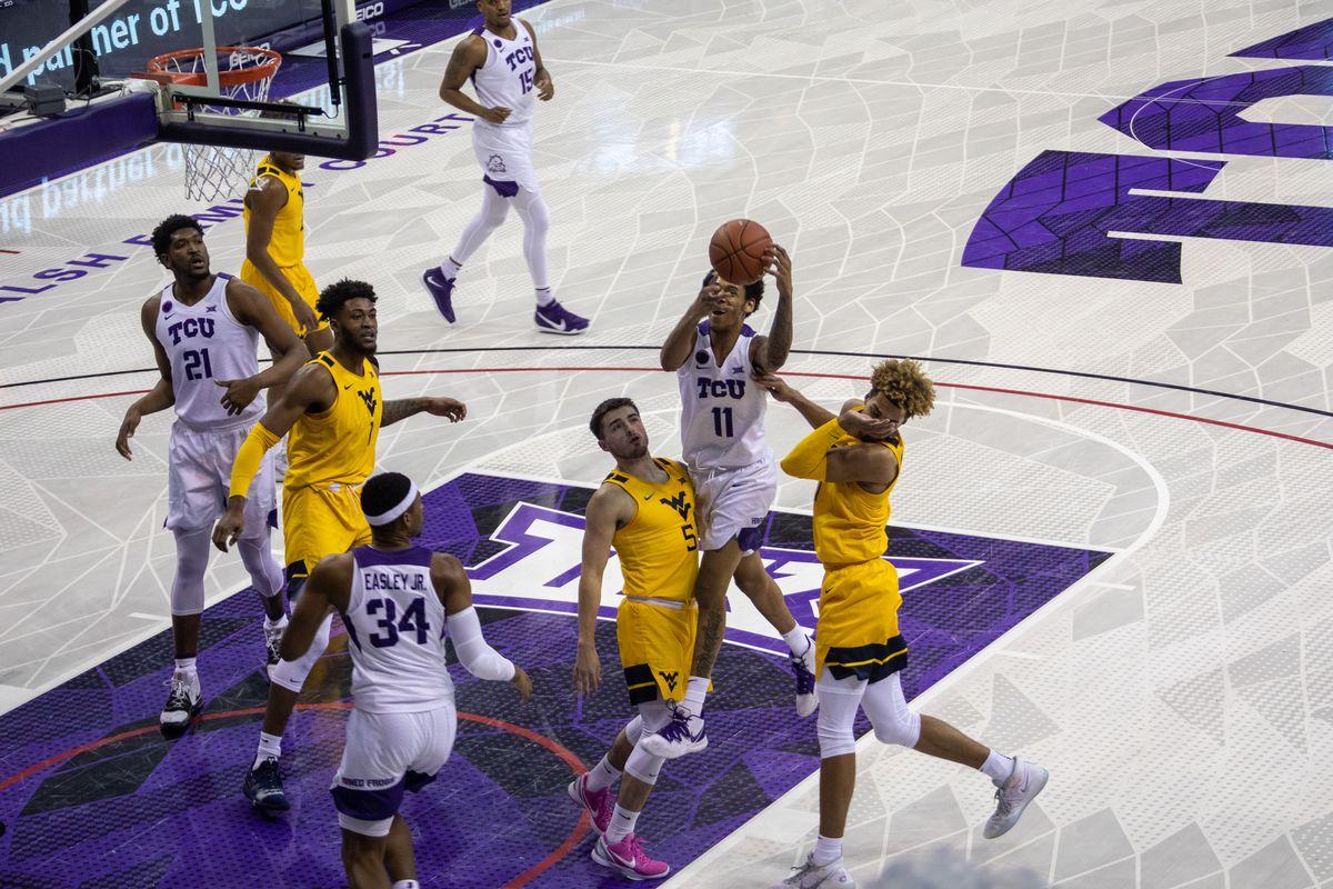 TCU Basketball vs WVU | February 23, 2021 | Fort Worth, TX