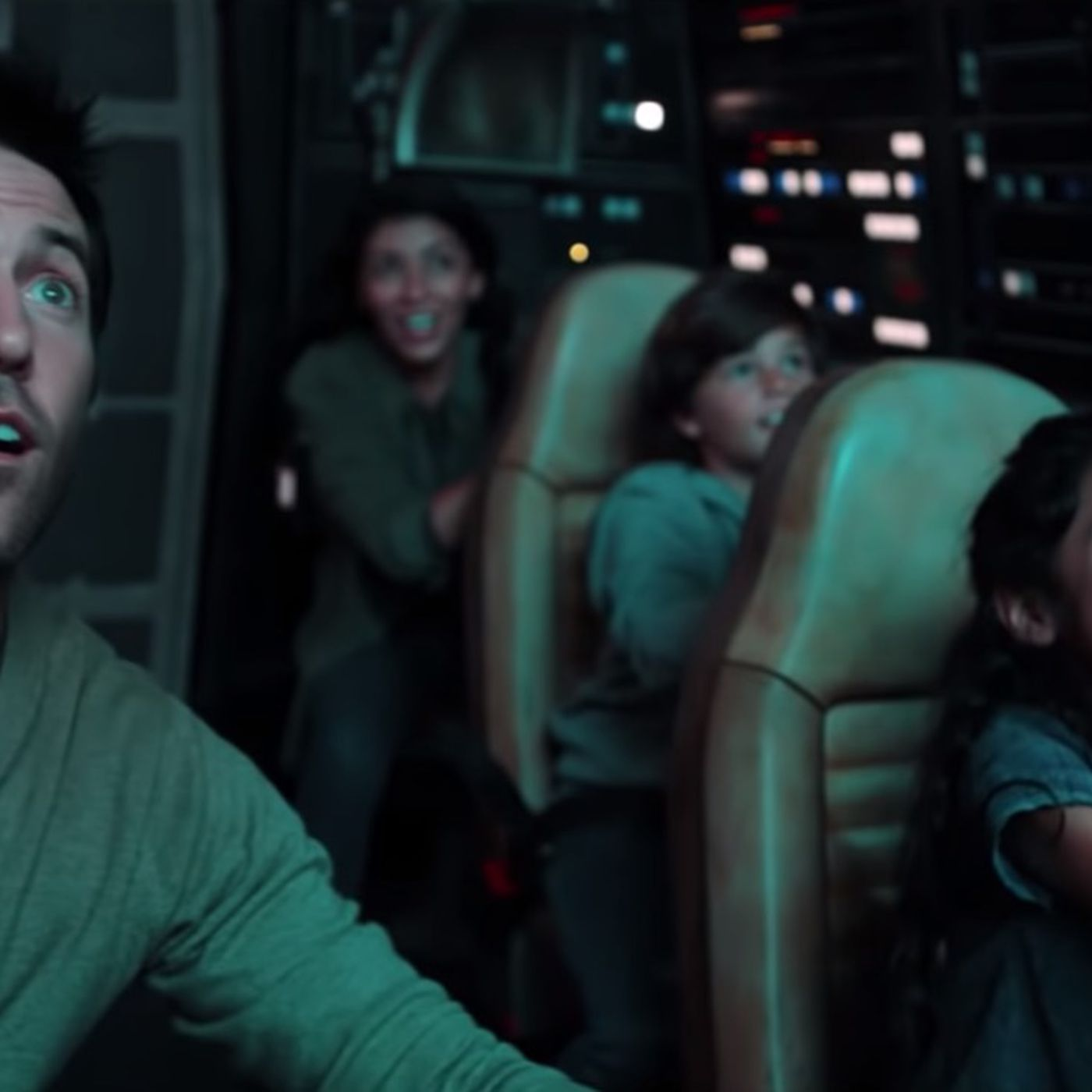 Disney previews how the Star Wars Millennium Falcon ride