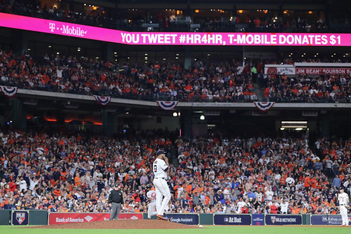 League Championship Series - Boston Red Sox v Houston Astros - Game Four