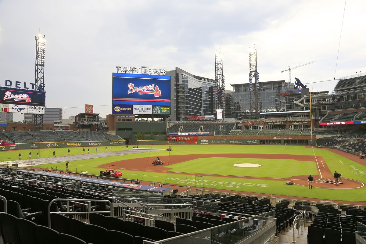 The MLB pulled the All-Star Game from Atlanta after a voter suppression  bill became law - Vox