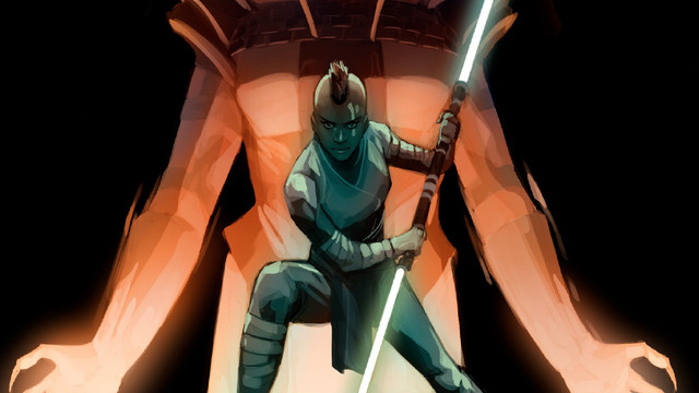 concept art of keeve in star wars the high republic