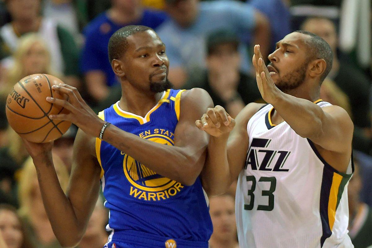 Golden State Warriors v Utah Jazz - Game Three