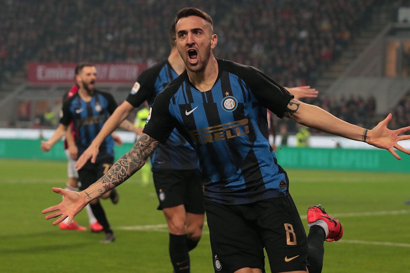 Brilliant display: Inter Milan puts three up on Milan in Derby