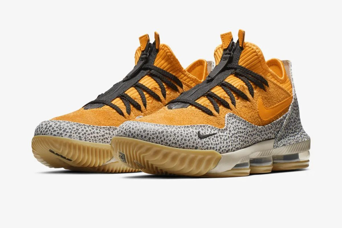 b8a6bd4ebb30 The new Nike LeBron 16 Low will pay homage to a classic 2003 Air Max ...