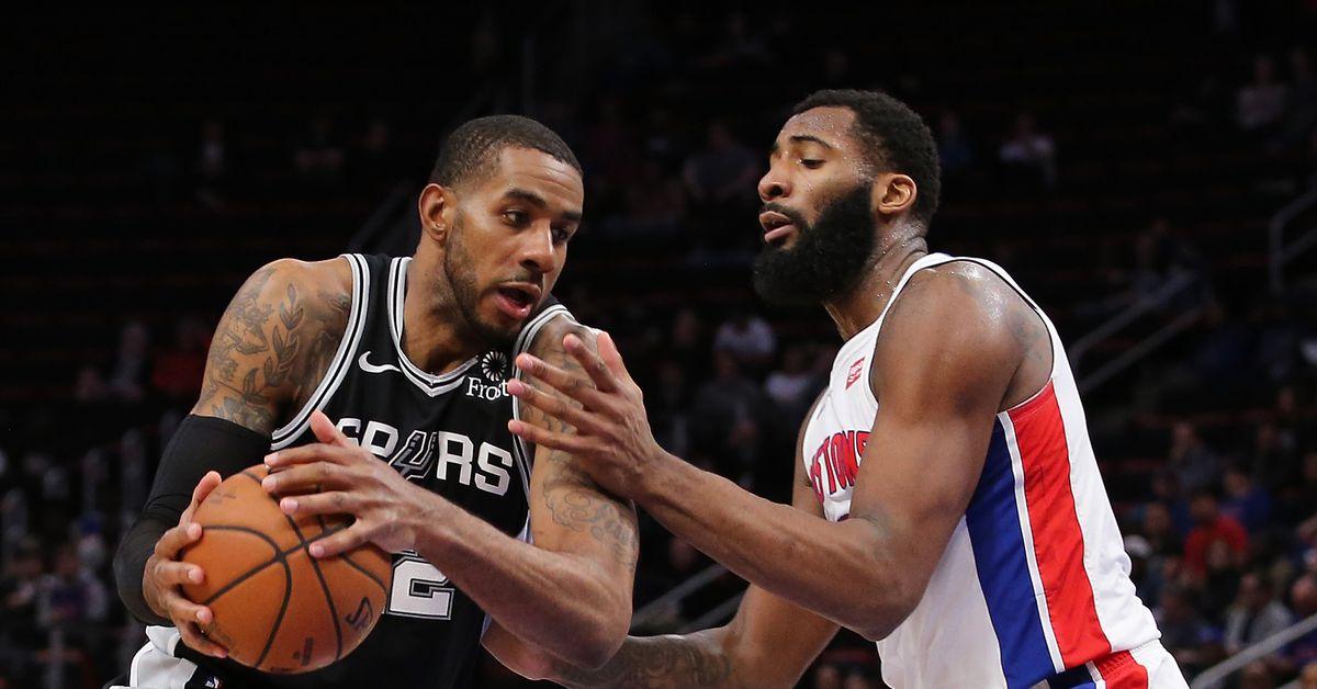 NBA Rumors: Lakers get meetings with Andre Drummond, LaMarcus Aldridge - Silver Screen and Roll