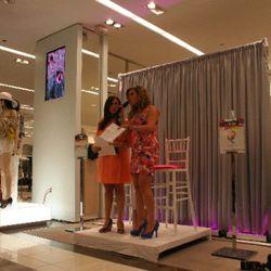 Jessica Zweig and Erica Bethe Levine, hosts of Cheeky Chicago spring fashion show