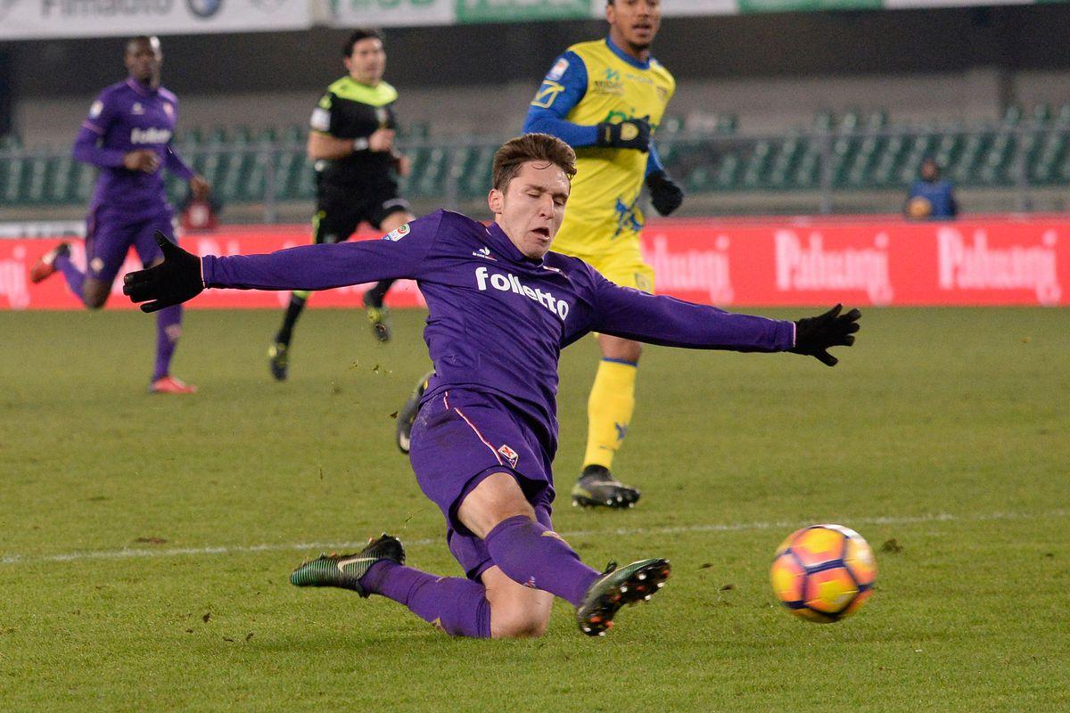 AC ChievoVerona v ACF Fiorentina - Serie A