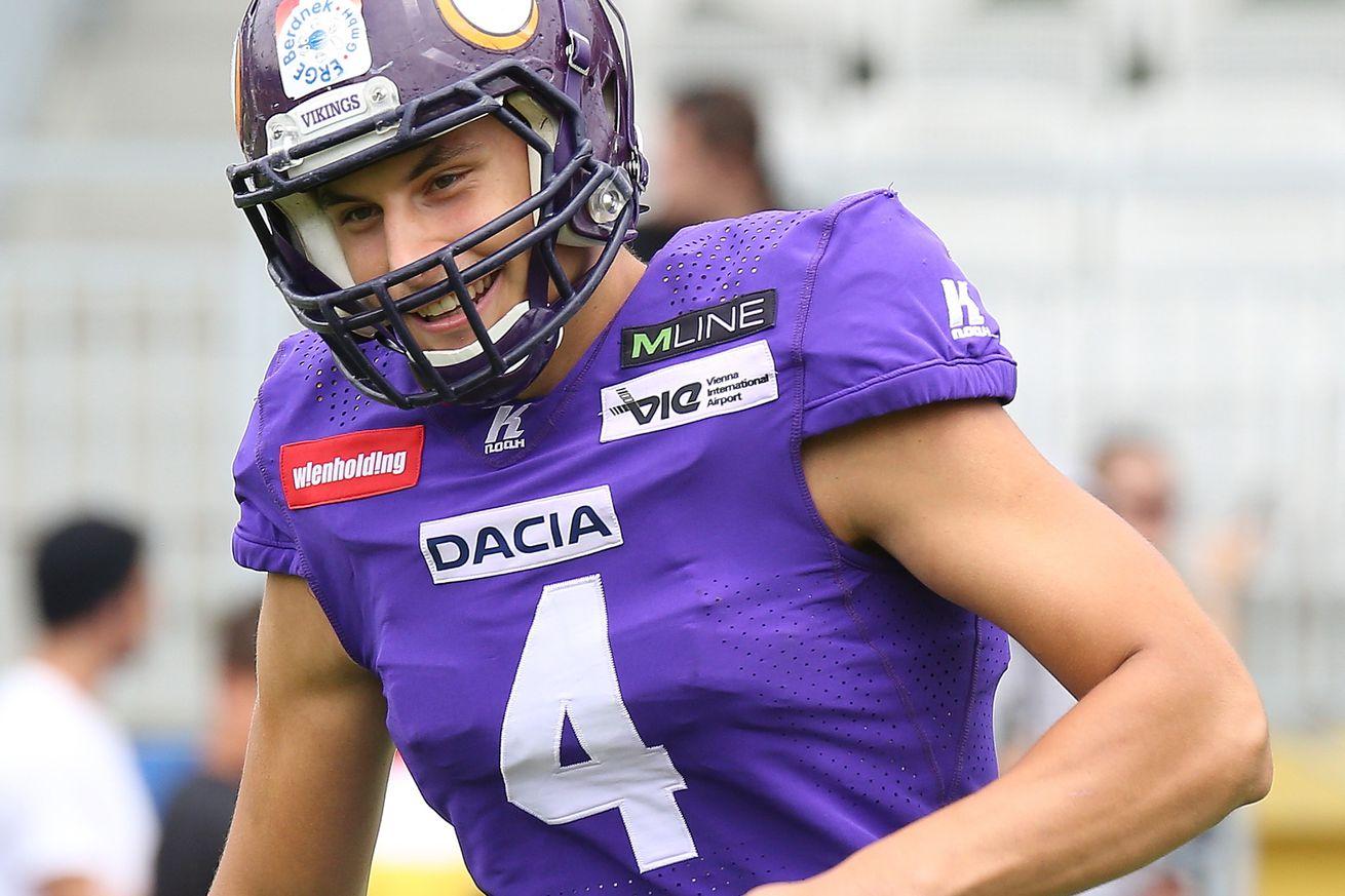 Dacia Vikings v Steelsharks Traun - AFL Football