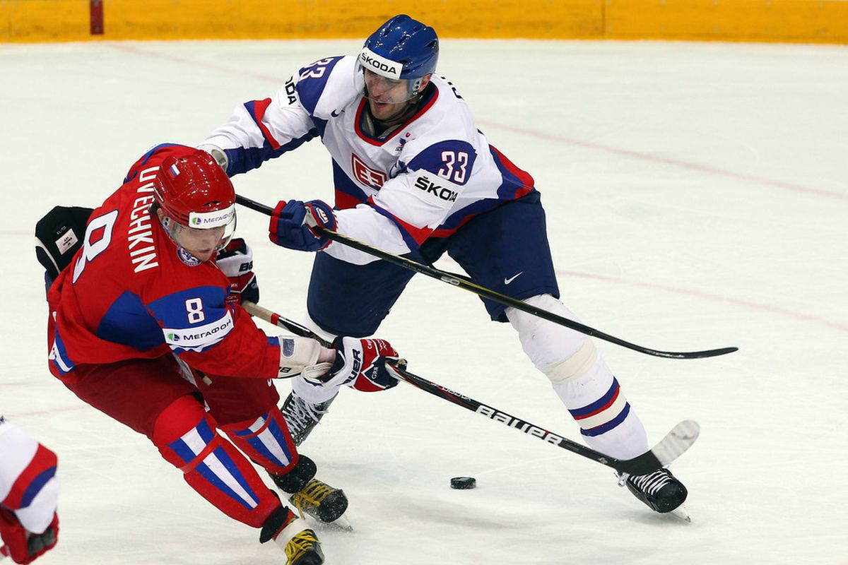 Zdeno Chara will certainly be harrassing Alexander Ovechkin in Sochi.