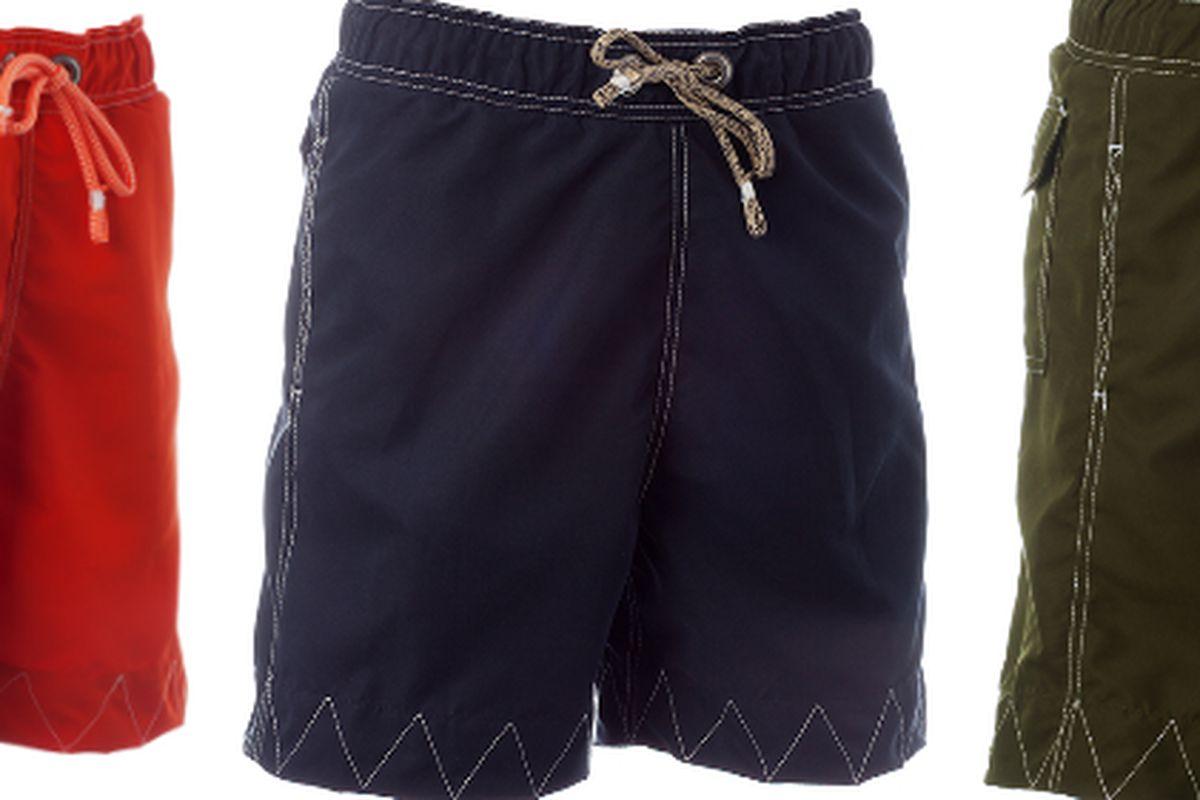 "Veedon trunks, $185, via <a href=""http://www.everestisles.com/"">Everest Isles</a>"