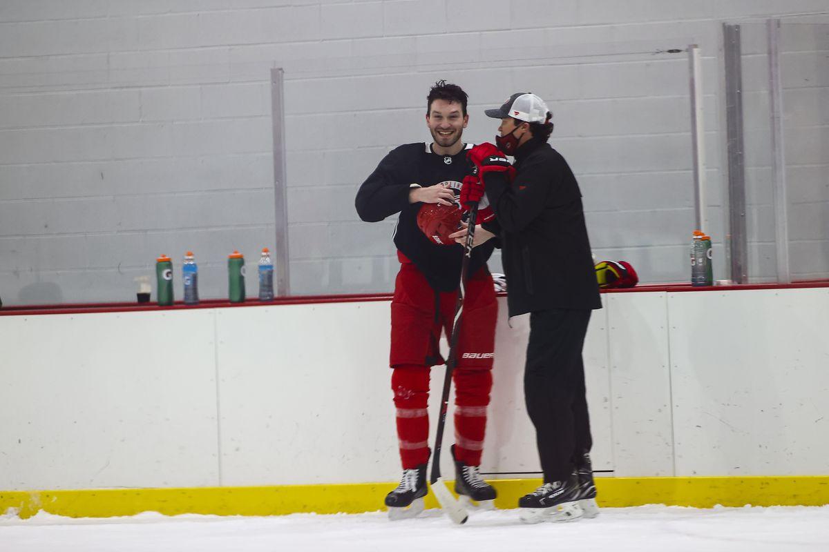 NHL: JAN 05 Hurricanes Training Camp