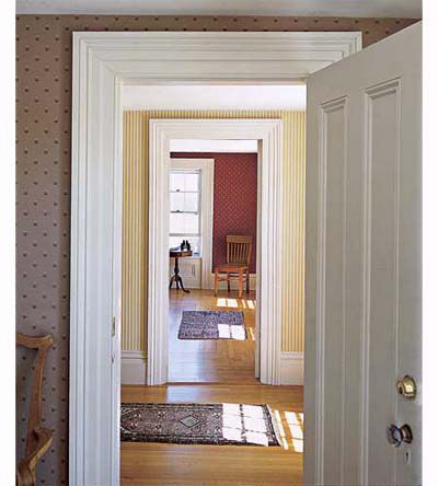 13 Easy Door Surround Profiles From Stock Molding This Old House