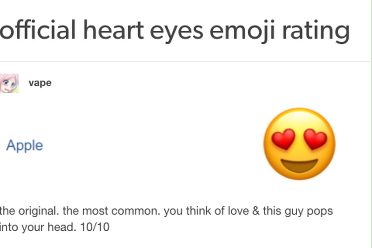 The best new genre of blog is 'emoji review' - The Verge