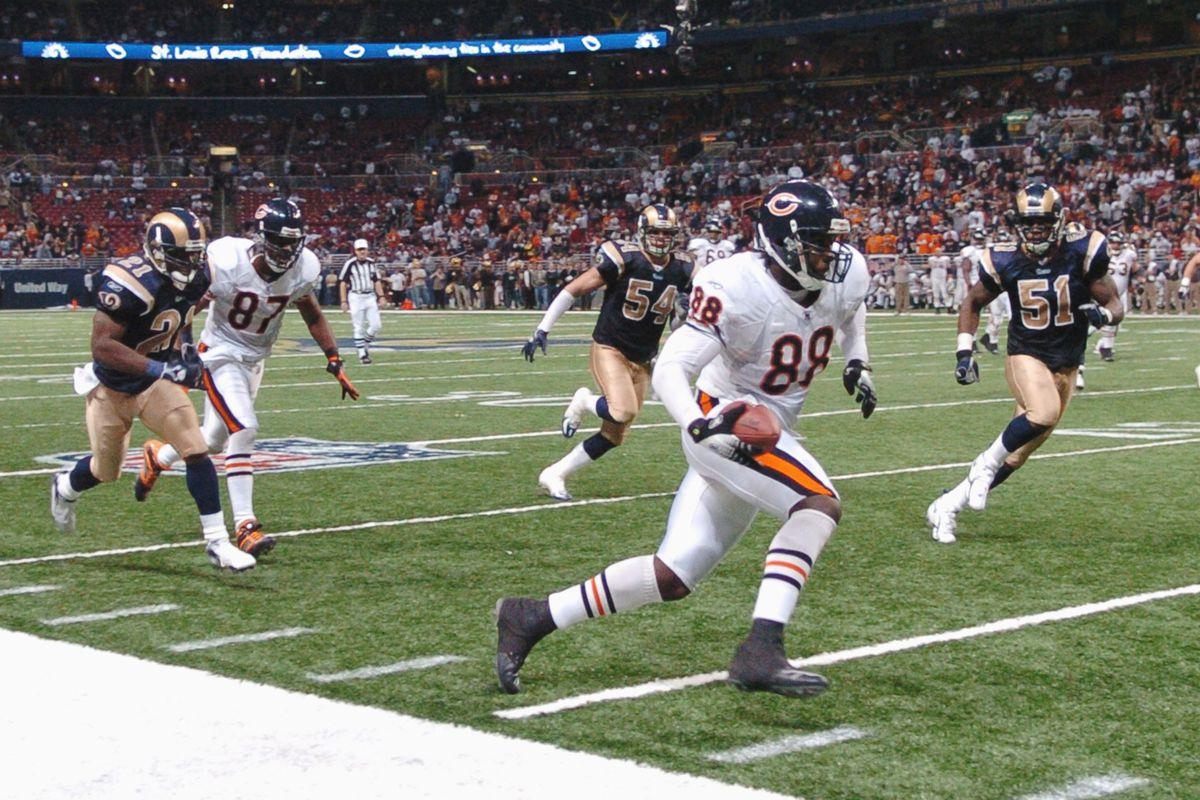 Chicago Bears vs St. Louis Rams - December 11, 2006