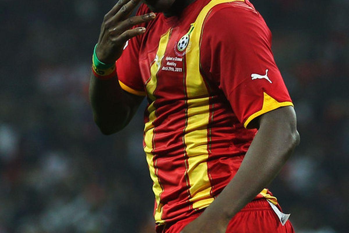 Looking Good, Asamoah.