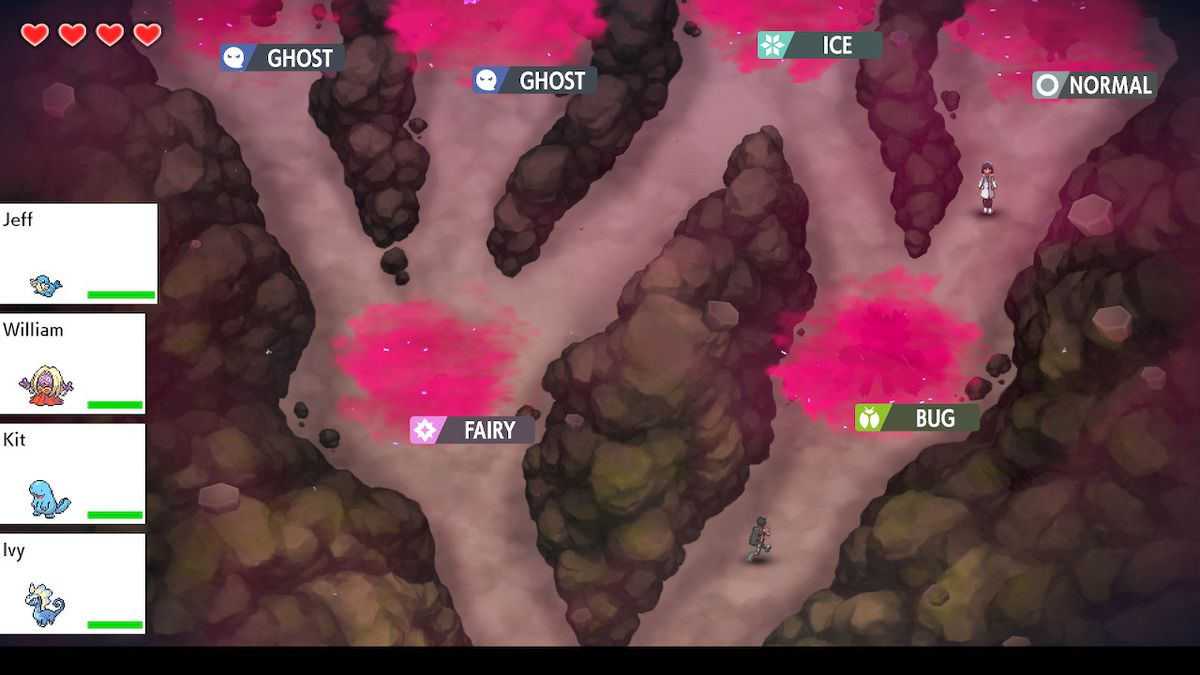 A look at the maze-like structure of Dynamax Adventures in Pokémon Sword and Shield