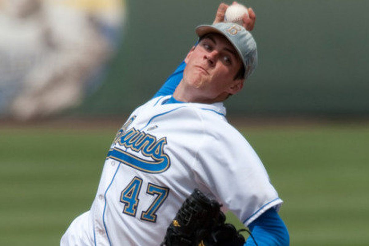 UCLA will change things up with Trevor Bauer opening up the weekend on the mound (Photo Credit: Official Site)