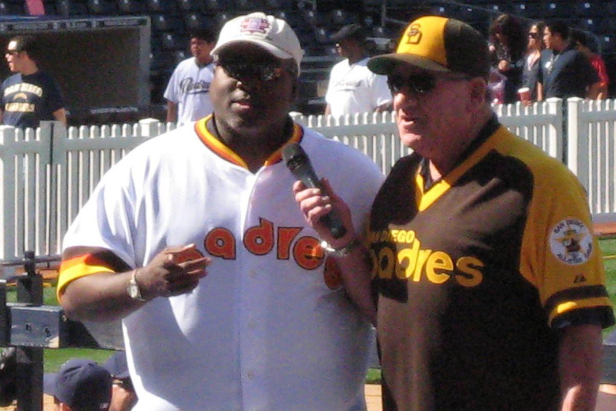 Tony Gwynn and Randy Jones