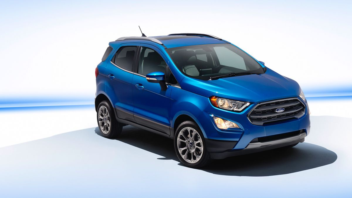 The Wee Little Ecosport Is Ford S New Small Suv The Verge