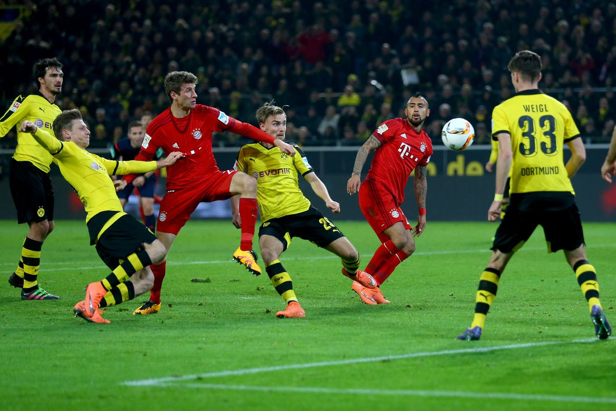 borussia dortmund vs bayern munich live stream time tv schedule and how to watch the dfl. Black Bedroom Furniture Sets. Home Design Ideas