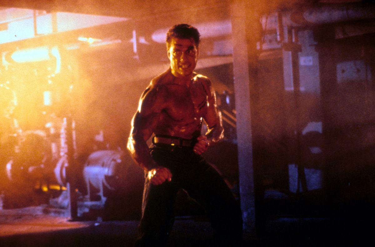 Jean-Claude Van Damme In 'Death Warrant'
