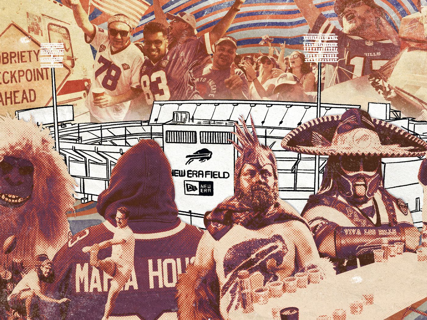 A Tailgate With The Energetic And Uniquely Weird Bills Mafia The Ringer