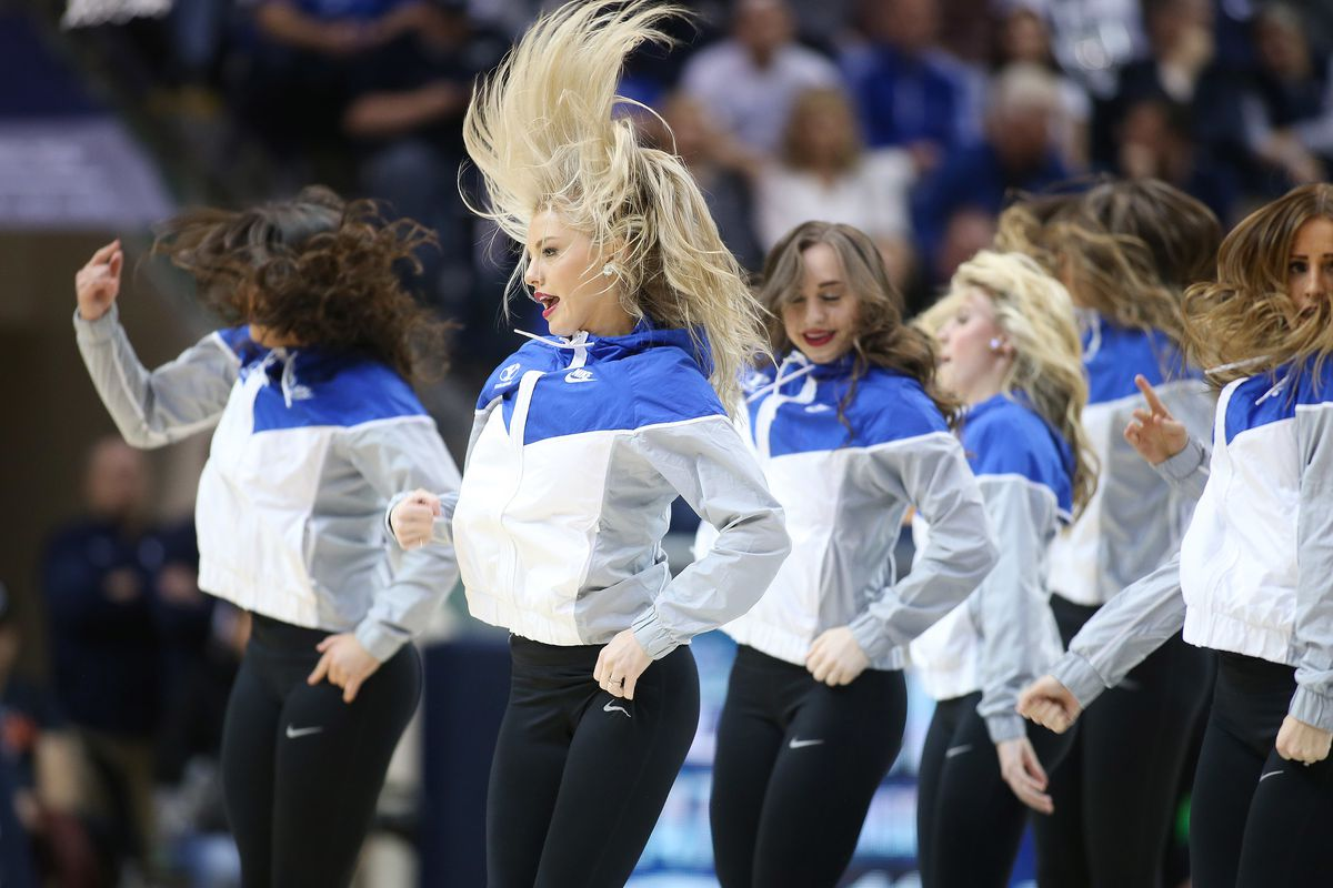 Cougarettes perform in Provo on Thursday, Jan. 31, 2019.