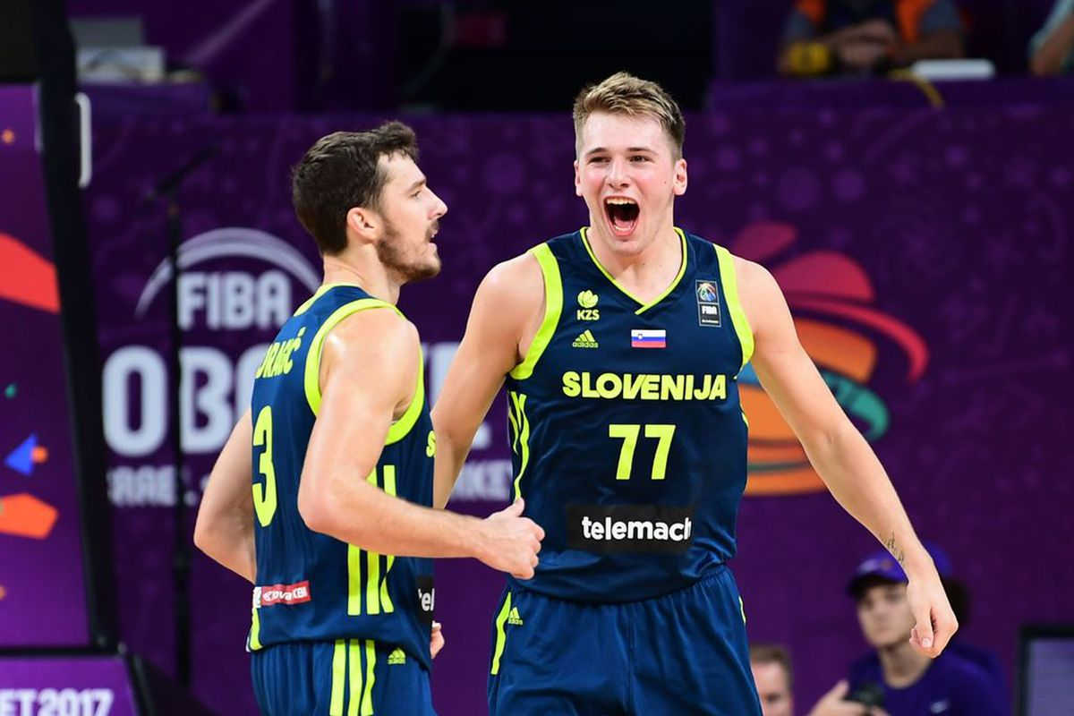 Dragic leads Slovenia to maiden European title