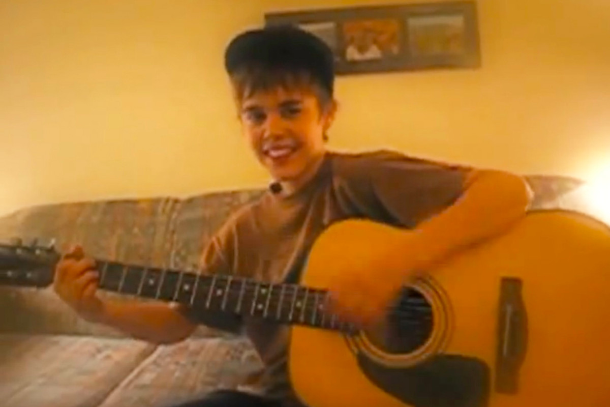 Justin Bieber on YouTube.
