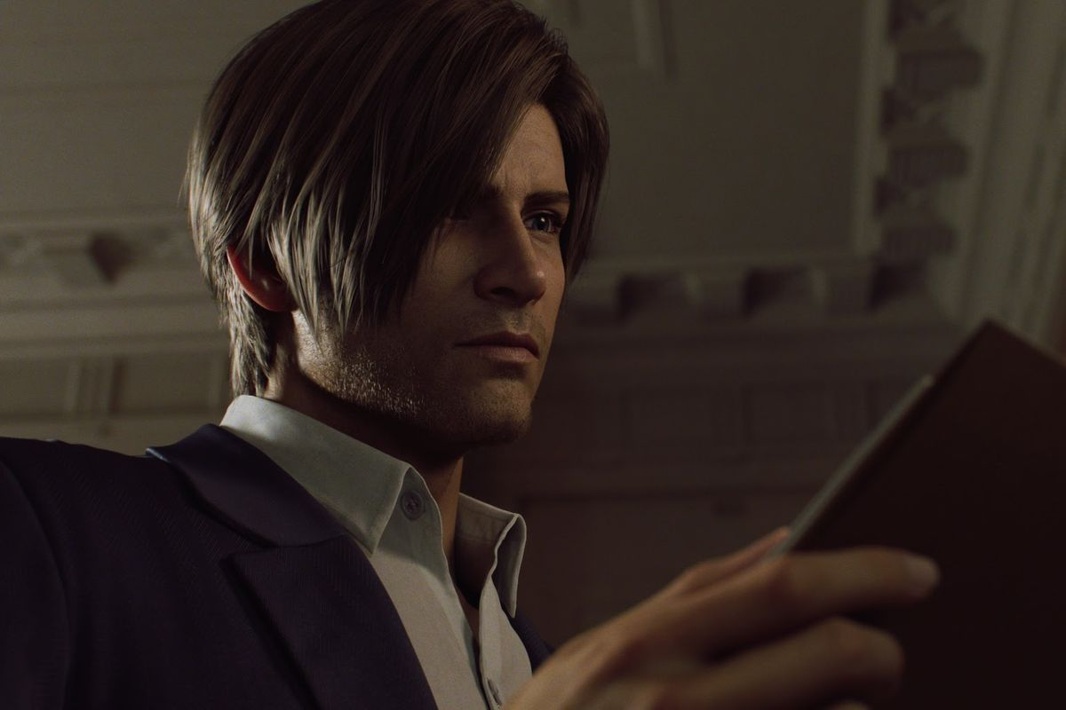Leon S. Kennedy from Netflix's series Resident Evil: Infinite Darkness