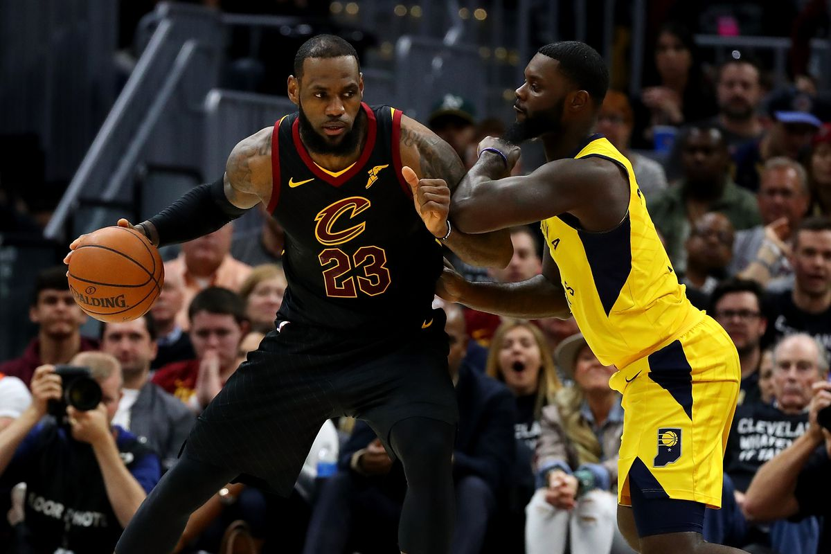 03587c0c0f7 Cavs 2018 live results  LeBron James and the Cavaliers survive and advance