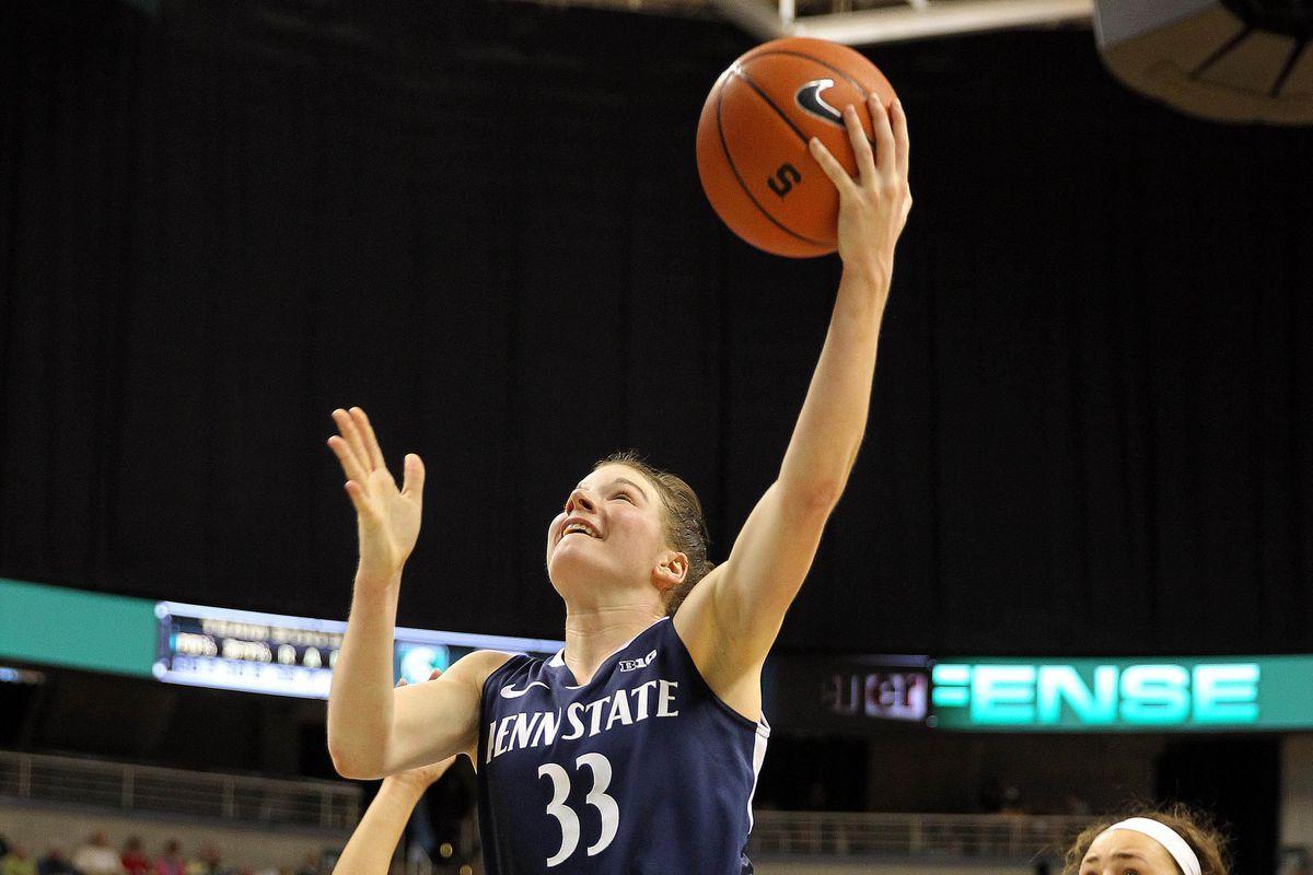Maggie Lucas annihilated Nebraska last week