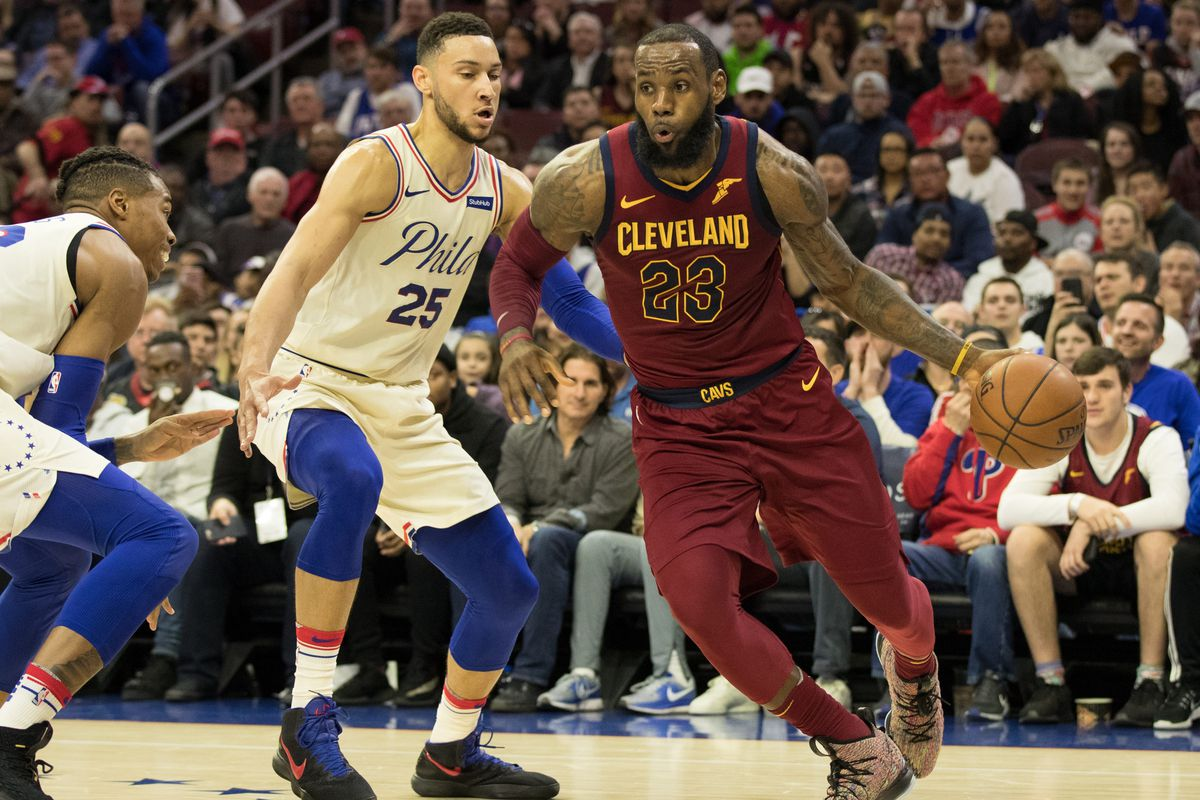 aed3883d246f Updated LeBron Odds  Philly coming in behind the Lakers - Liberty ...