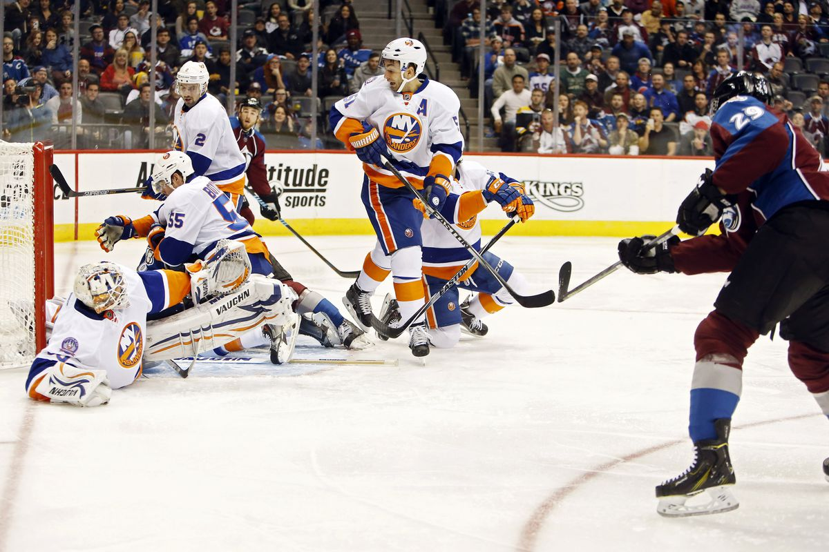 Portrait of the Islanders PK in its natural state.