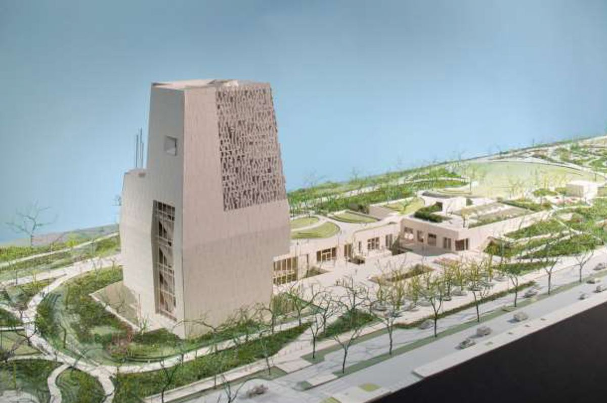 A rendering of the current design of the Obama Presidential Center in Jackson Park.   Obama Foundation