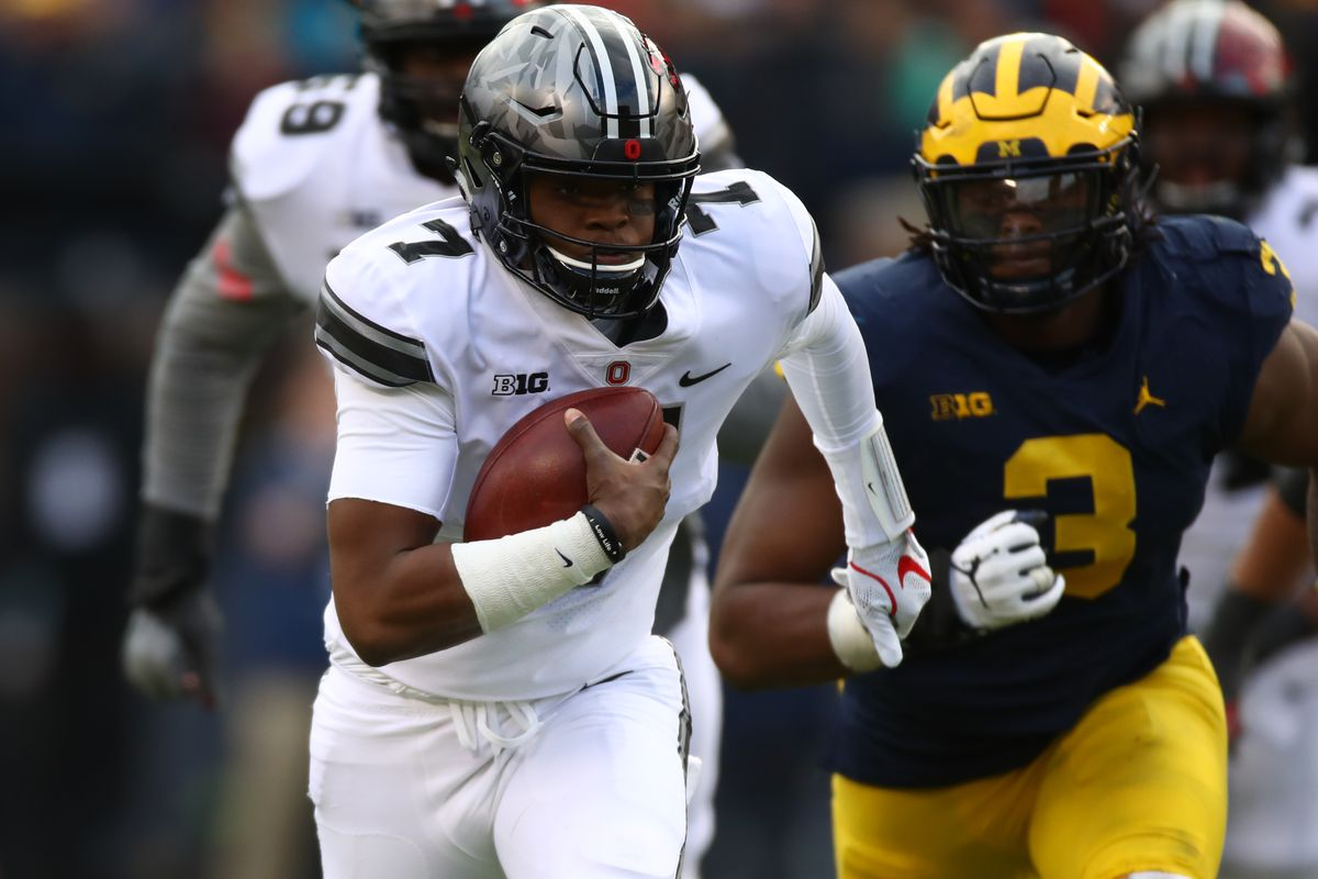 newest 23559 6734a Ohio State vs. Michigan results 2017: Dwayne Haskins ...