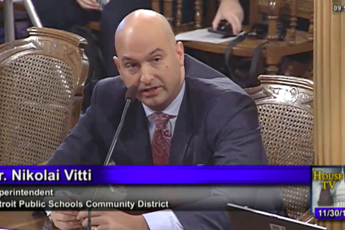 Detroit Schools Superintendent Nikolai Vitti