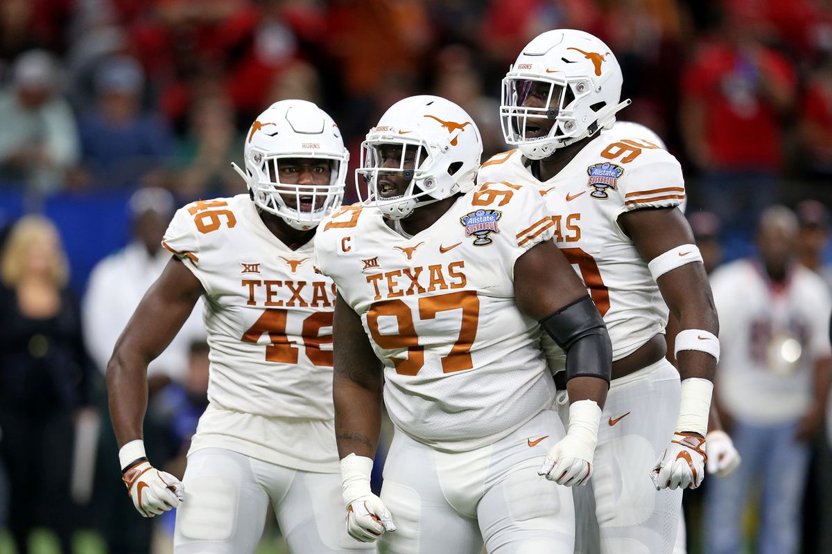 buy popular dd865 c2b5c Rebuilding the DL a priority for Texas in spring practice ...
