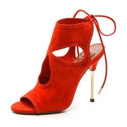 """Aquazzura """"Sexy Thing"""" cutout sandals, <a href=""""http://www.shopbop.com/sexy-thing-cutout-sandal-metal/vp/v=1/1588379737.htm?fm=search-viewall-shopbysize"""">$595</a> at Shopbop"""