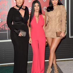 Kris Jenner, Kourtney Kardashian, and Kylie Jenner