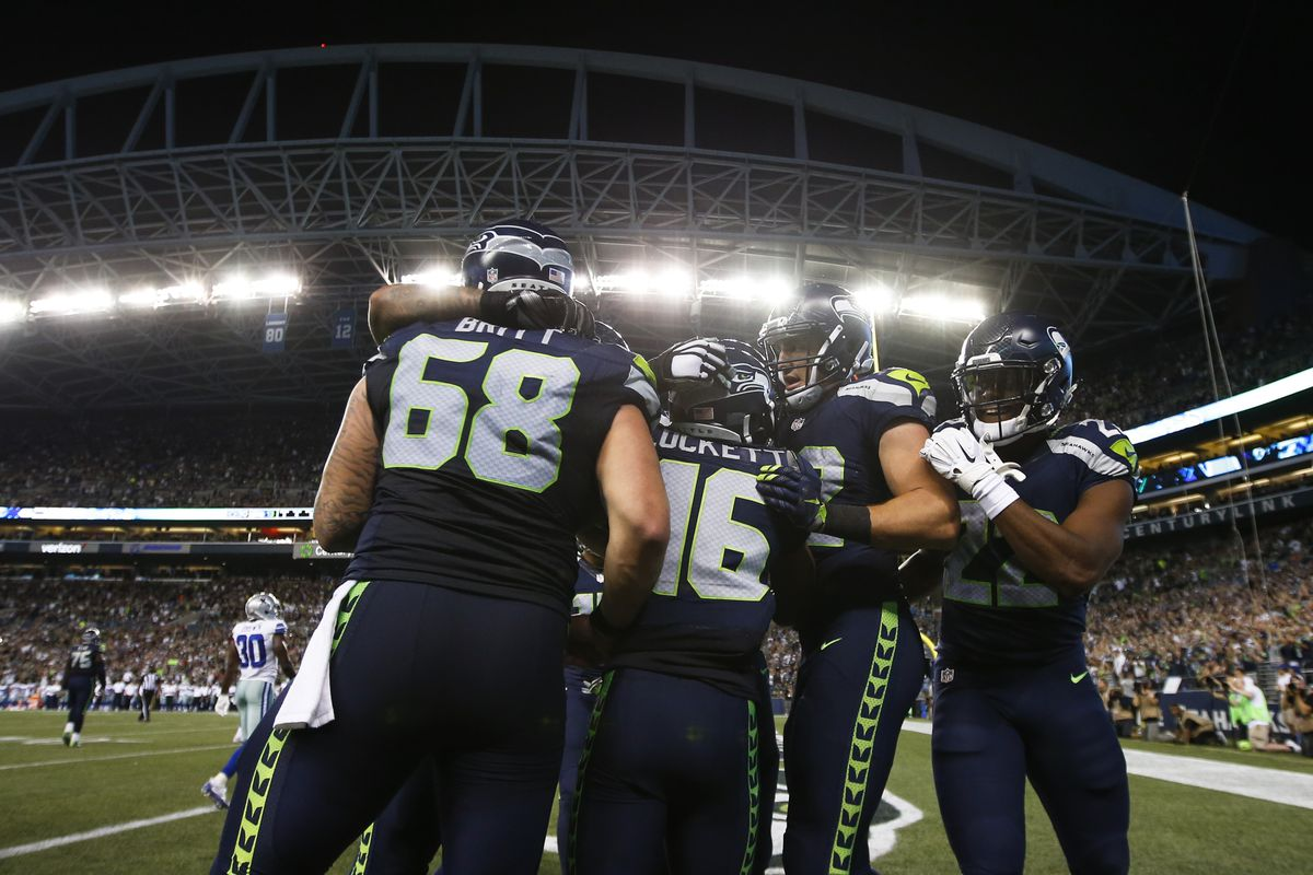 Seahawks Offense Depth Chart Projection For Final 53