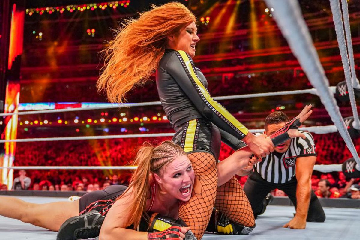 Ronda Rousey vs Becky Lynch To Be WWE Wrestlemania 37 Main Event 2