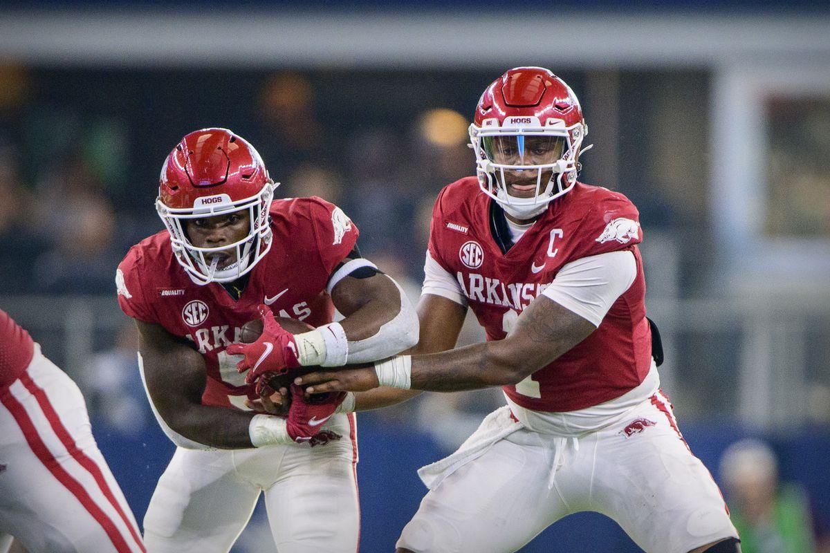 NCAA Football: Texas A&M at Arkansas