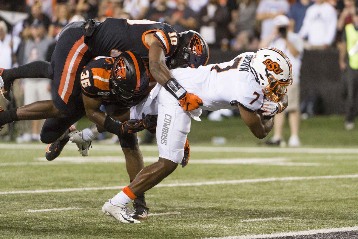 NCAA Football: Oklahoma State at Oregon State