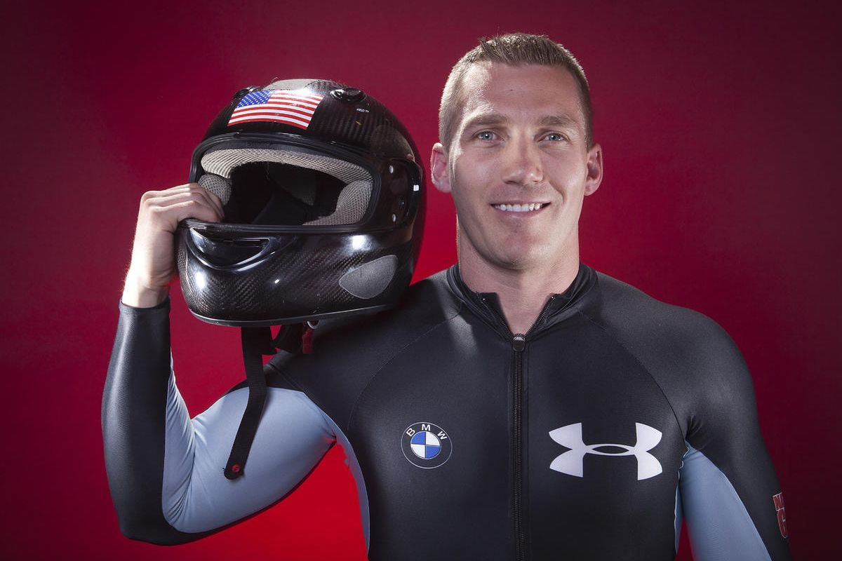 U.S. Olympic bobsledder Chris Fogt poses for a portrait at the 2013 Team USA Media Summit on Monday, Sept. 30, 2013 in Park City, UT.