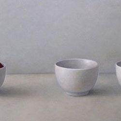 A Fujii Three Bowls With Paprika, Atsuko Fujii
