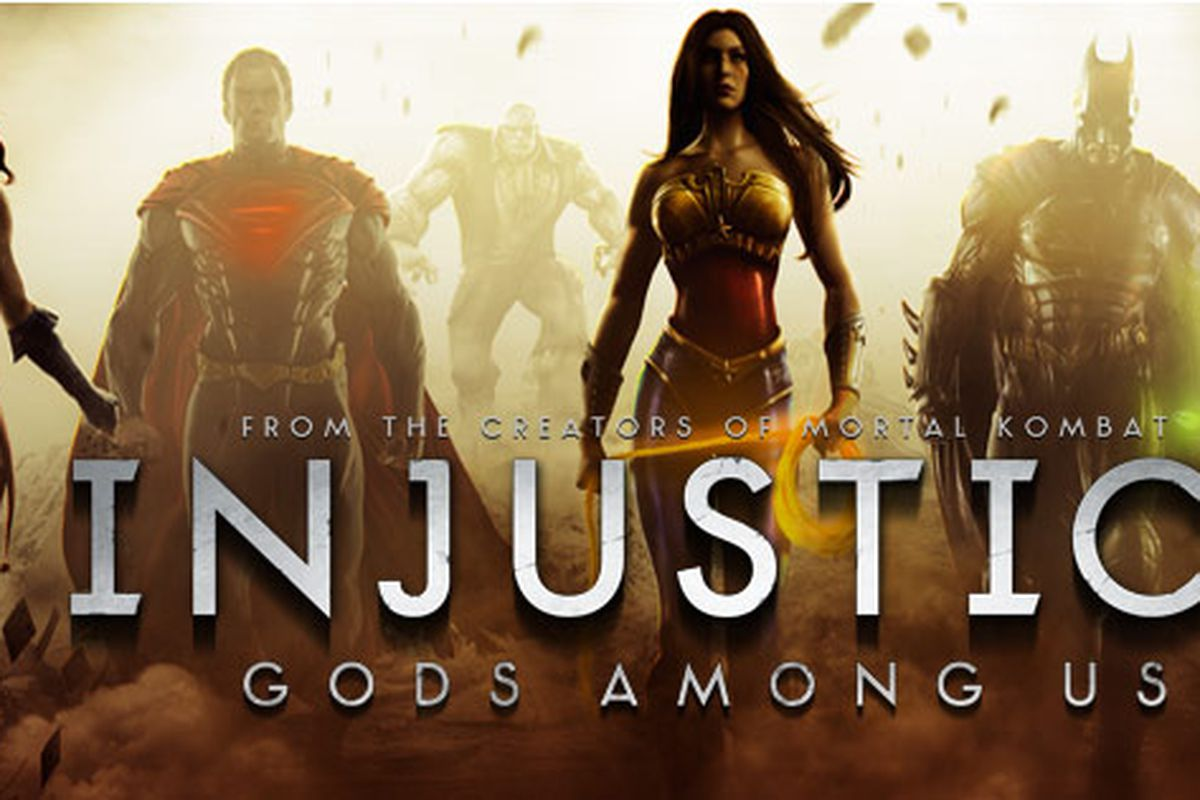 Injustice: Gods Among Us heroes