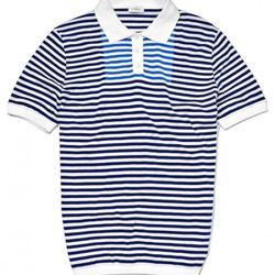 Jil Sander - Contrast Bib Front Stripe Polo Shirt<br />$445 (50% off) = $222.50