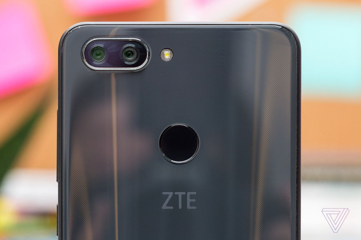 ZTE's newest Blade phone features dual cameras, a glass back, and
