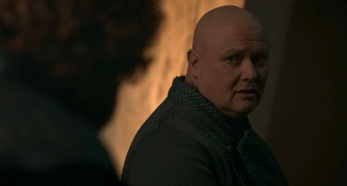Image result for got season 8 episode 4 varys and tyrion